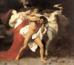 The Romorse of Orestes de William Adolphe Bouguereau (1825-1905)
