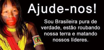 Índios guarani-kaiowás, Brasil