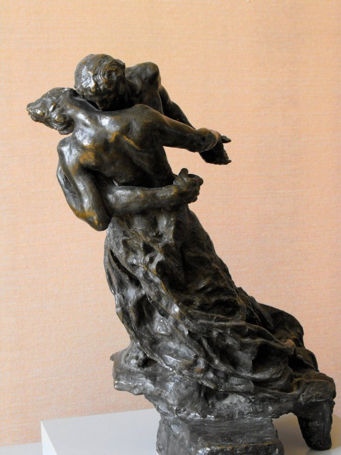 La Valse/ The Waltz (By: Camille Claudel)