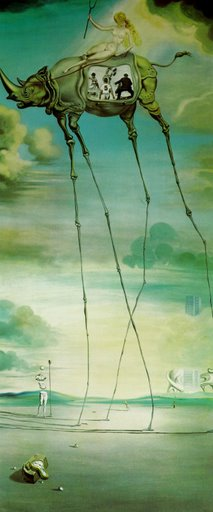Celestial ride, Salvado Dali, 1957