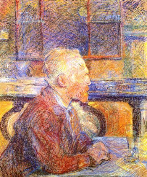 De Henri de Toulouse-Lautrec, Retrato de Vincent van Gogh de 1887