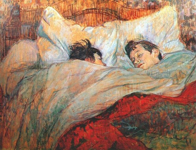Lautrec, In Bed, 1893