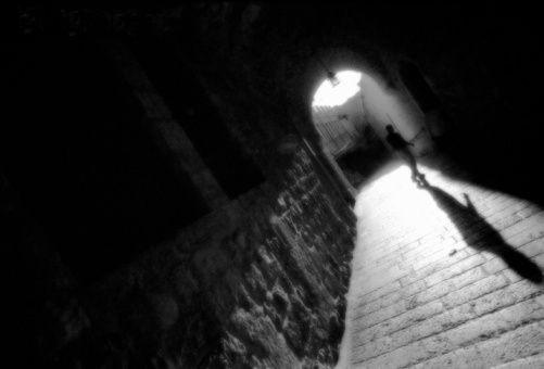 a sombra que me persegue