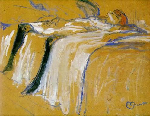 Alone, de Lautrec, 1896