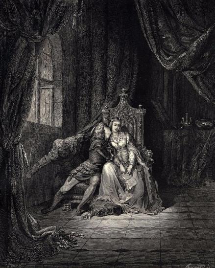 Divina Comédia - Inferno - Canto V, Gustave Doré