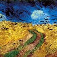 Van Gogh - Corvos no Campo de Trigo
