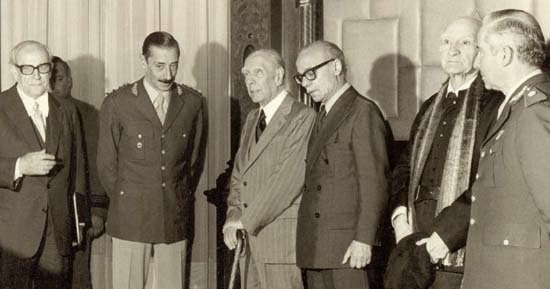 Videla, Borges y Sábato - 1